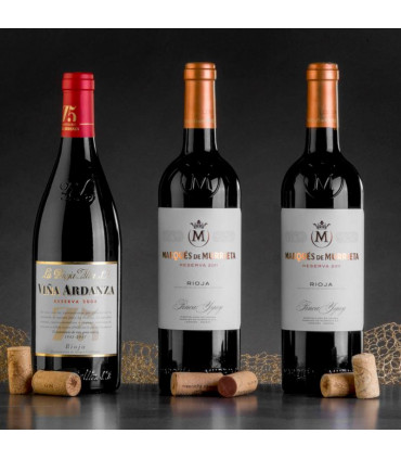 MARQUES DE MURRIETA RESERVA D.O RIOJA 3 BOTELLAS