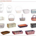 Las cajas, cestas y baúles que reinan en Sadival