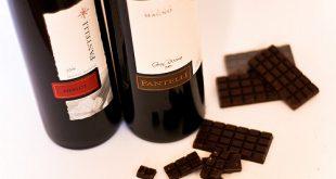 El vino ha de ser muy seco si se trata de chocolates de gran pureza.