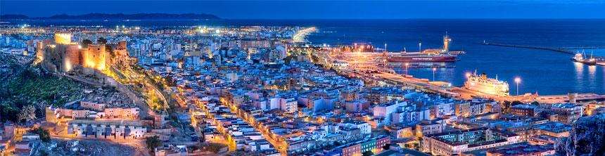 Cestas de Navidad a domicilio en Almería