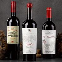 Cajas de Vinos y Lotes con vino