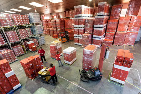 almacen cestas de navidad