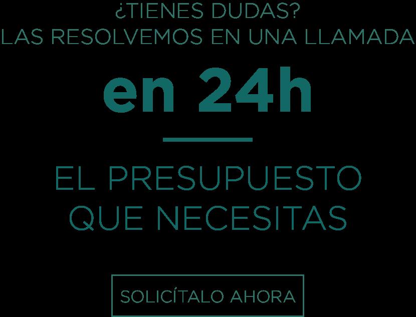 EL PRESUPUESTO QUE NECESITAS EN 24H